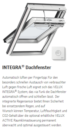 Dachfenster VELUX - INTEGRA